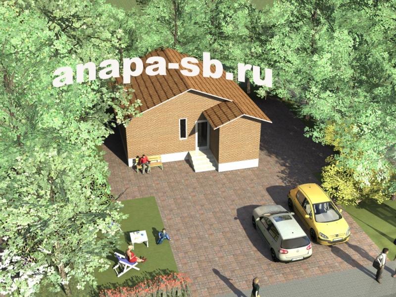 Одноэтажный дом 68 кв.м.