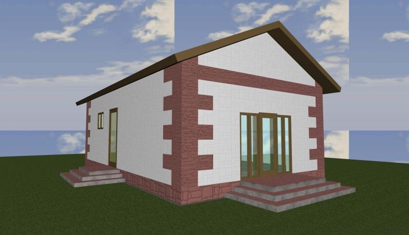 проект Одноэтажного дома 85 кв.м.