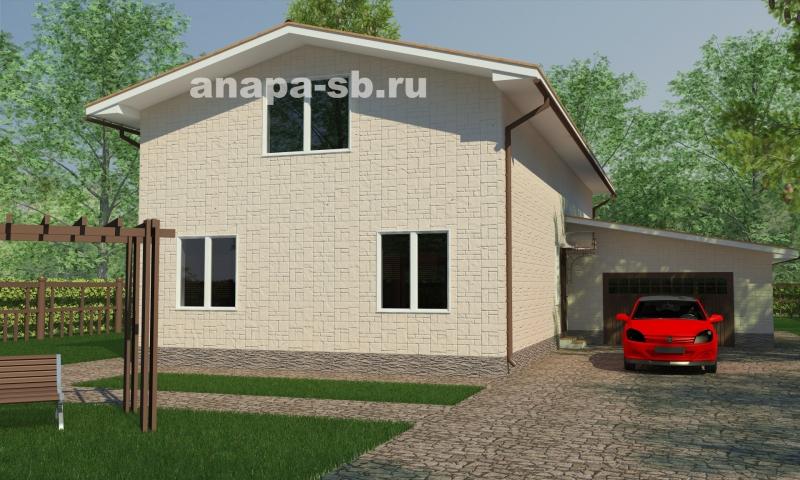 1.5 этажный дом Маргарита 305 кв.м.