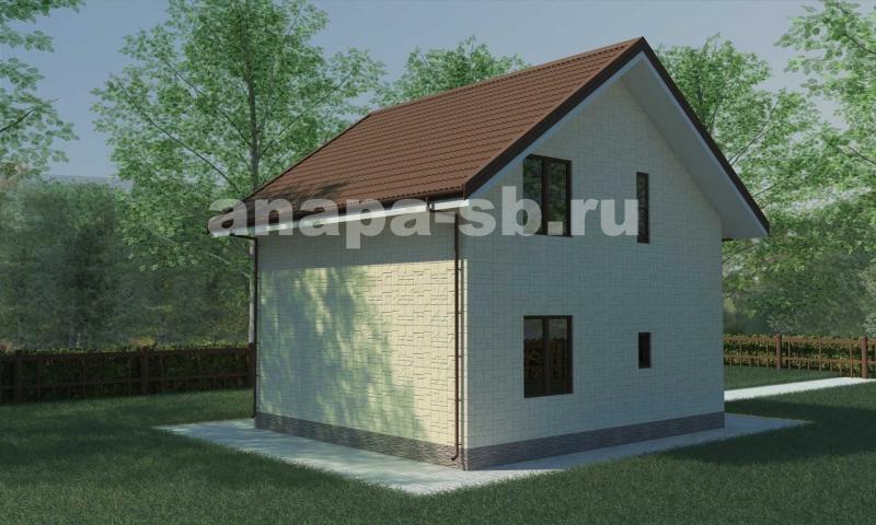 1,5 этажный дом