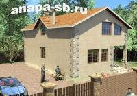 Проект дома с мансардным этажом 210 кв.м.