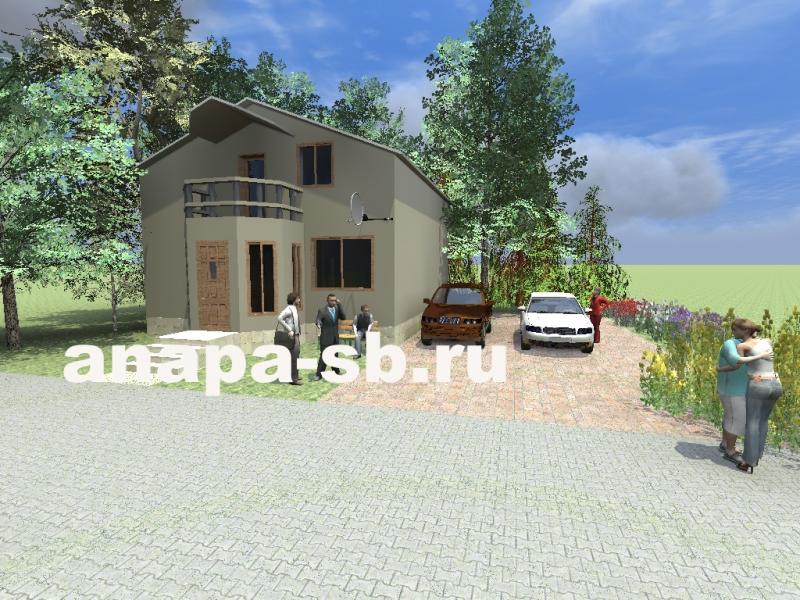 Проект полутора этажного дома 183 кв.м.