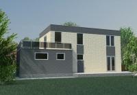 Дом с плоской крышей 185 кв.м.