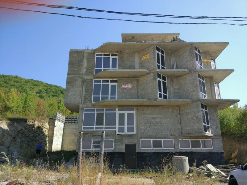 Продается недостроенная гостиница в Анапе п.Сукко