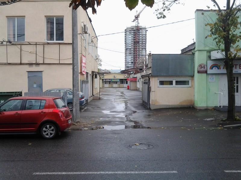 Участок с офисами в центре города Краснодар