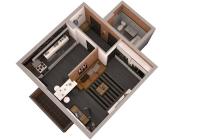 Продается 1 комнатная квартира 38 кв.м. ЖК