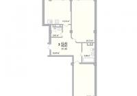 2-х комнатная квартира 99 кв.м. ЖК