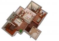 4-х комнатная квартира, два уровня ЖК