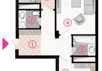 Продается 2-х комнатная квартира 66 кв.м. ЖК