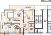 Продается 3-х комнатная квартира 82 кв.м. ЖК