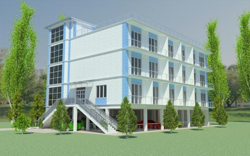 Готовый инвестиционный проект, гостиница 26 номеров.
