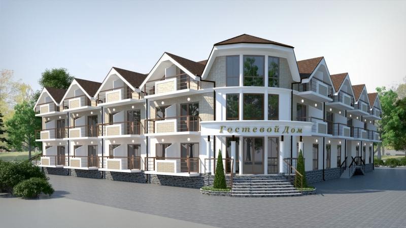 Готовый проект для курортного бизнеса, гостиница 63 номеров.