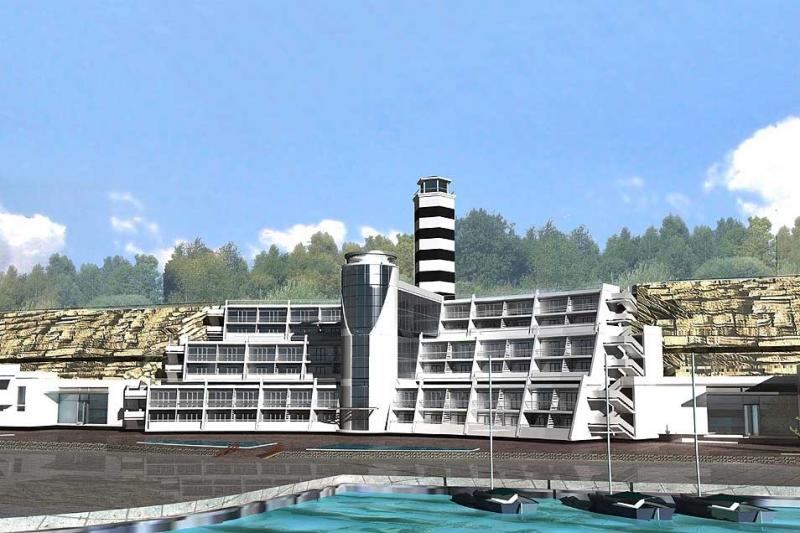 Благоустройство набережной «Высокий берег» в городе-курорте Анапа