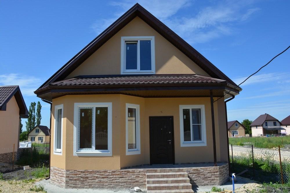 Дом в станице Гостагаевская на участке 5 сот