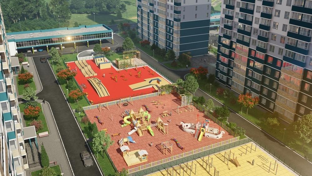Продажа 2-х комнатной квартиры в строящемся комплексе